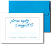 Bright Blue A7 Envelopes