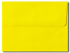 Bright Yellow A7 Envelopes
