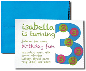Blank Cards with Bright Blue Envelopes