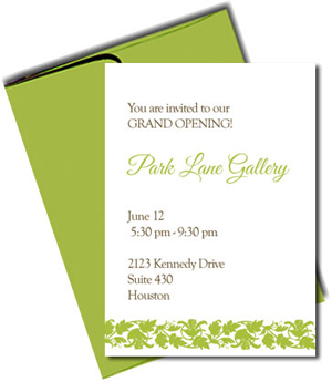 Cards with Fern Green Envelopes