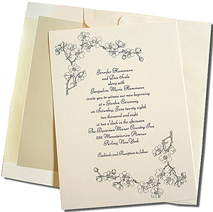 A7 Cream Cards with Old Pearl Lined Envelopes