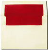 Red Lined A7 Envelopes
