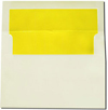 Sun Yellow Lined Envelopes