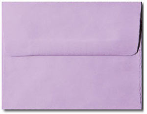A7 Pastel Pink Envelopes. No Minimum!