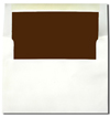 Chocolate Brown Lined A7 Envelopes