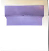 Lilac Purple Pearl Lined Envelopes
