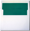 Teal Pearl Lined A7 Envelopes