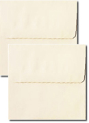 CLEARANCE Cream Square Wedding Envelope Sets